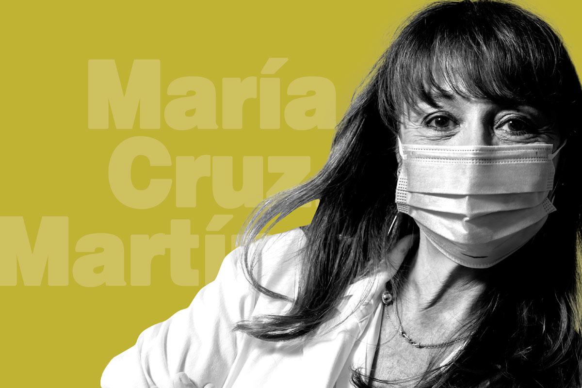 María Cruz Martín Delgado, presidente de la Federación Panamericana e Ibérica de Medicina Crítica y Terapia Intensiva (FEPIMCTI).