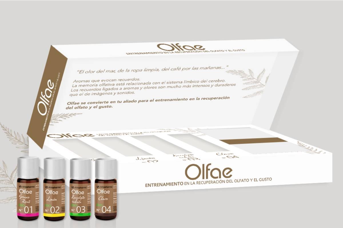'Olfae', de Arkopharma, entrenamiento olfatorio para pacientes con Covid-19.