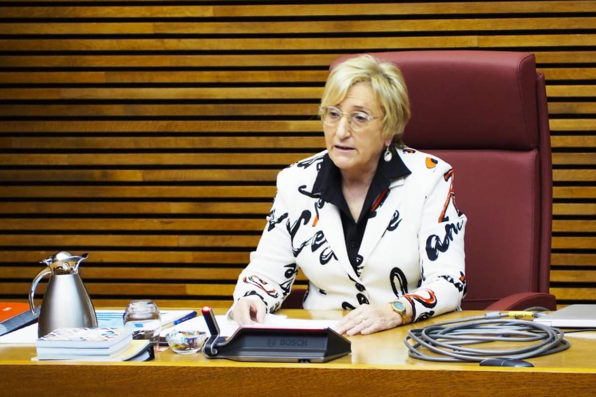 Ana Barceló, consejera de Sanidad de la Comunidad Valenciana. (GVA Sanitat)