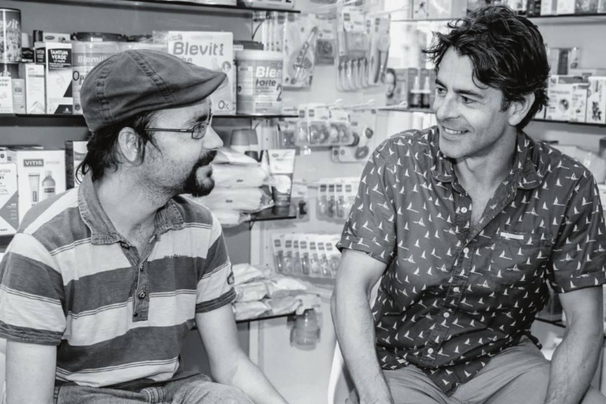 Eduardo Noriega, imagen de la campaña 'Abre tus ojos', iniciativa de las farmacias cántabras en apoyo a la salud mental.