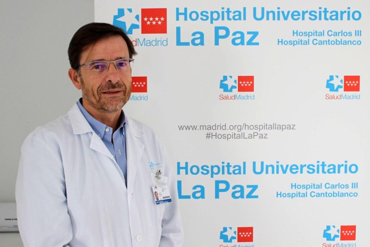 José Ramón Arribas es jefe de sección de la Unidad de Enfermedades Infecciosas del Servicio de Medicina Interna del Hospital Universitario La Paz (Madrid).