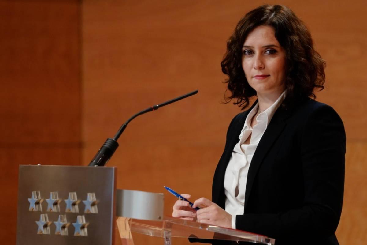 Isabel D�az Ayuso, presidenta de la Comunidad de Madrid.