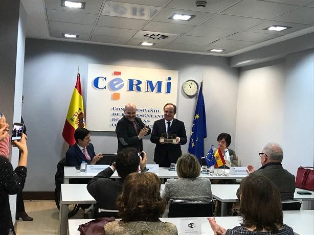 Luis Cayo, presidente de CERMI.