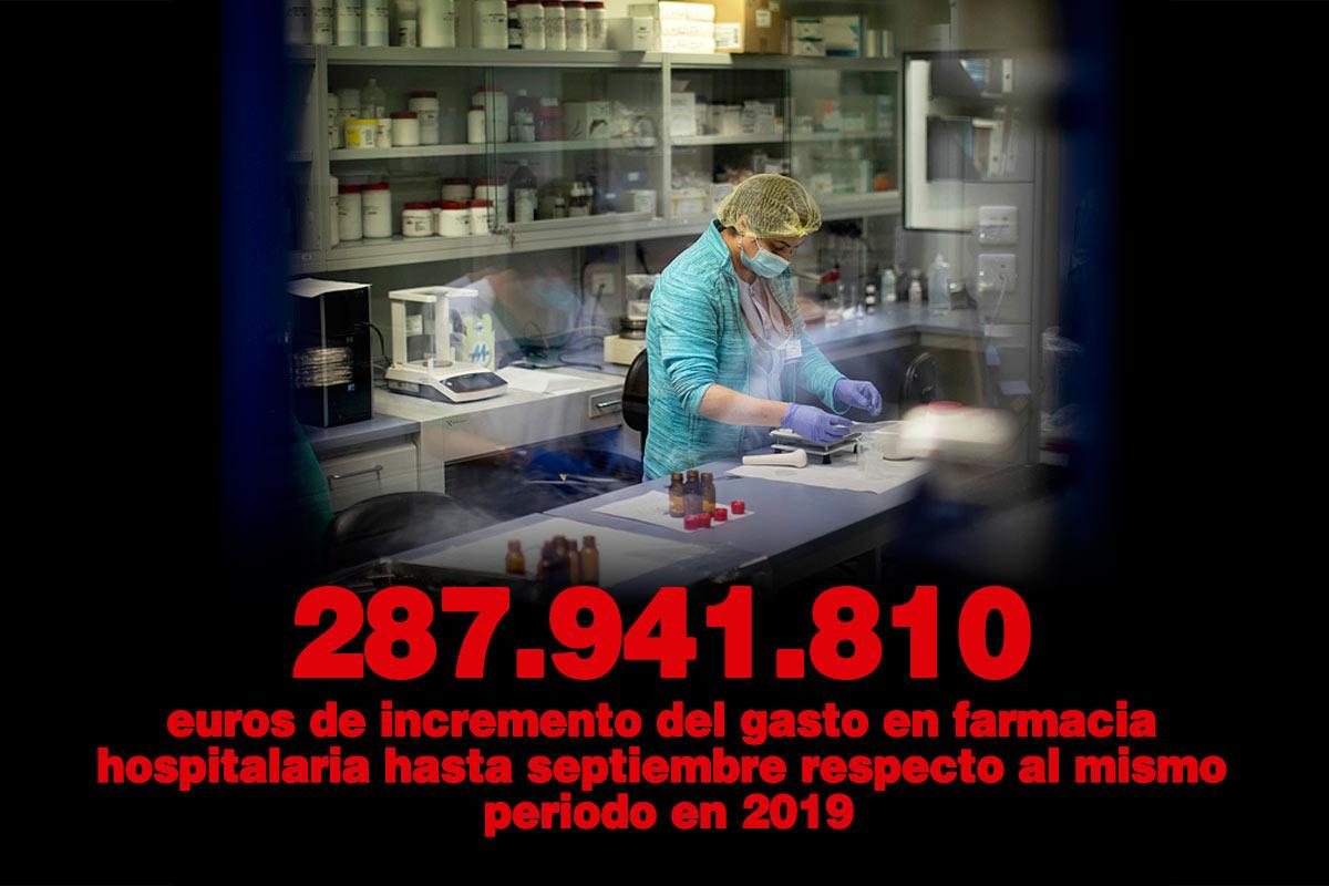 Farmacia hospitalaria del Hospital Gregorio Marañón (Madrid).