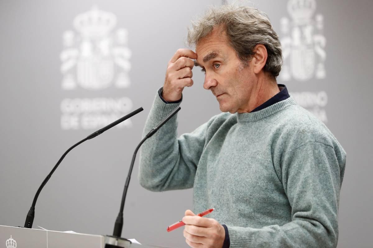 Fernando Simón, director del Centro de Coordinación de Alertas y Emergencias Sanitarias (CCAES) (Foto: EFE/Mariscal)