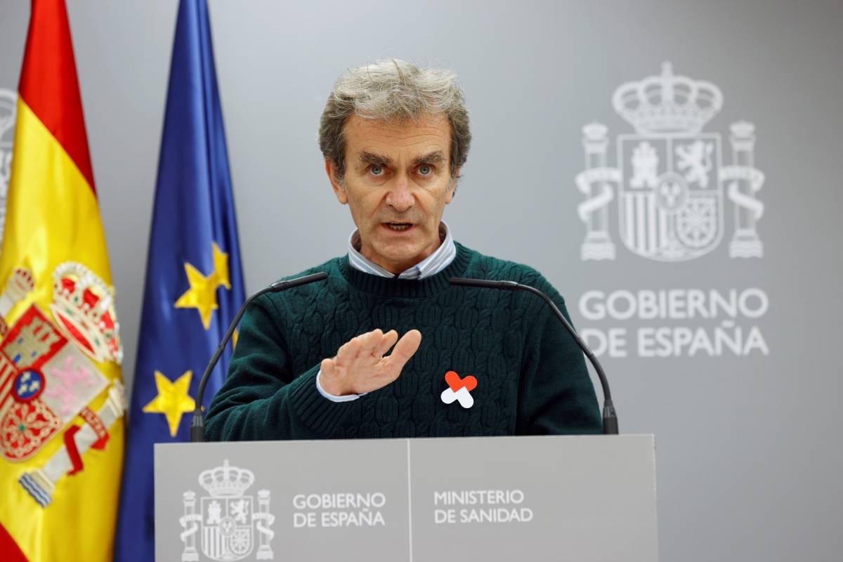 Fernando Simón, director del Centro de Coordinación de Alertas y Emergencias Sanitarias (EFE/Chema Moya)