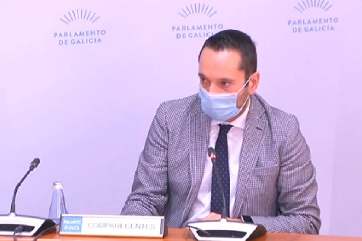 Alberto Fuentes, secretario general técnico de la Consejería de Sanidad de Galicia. .