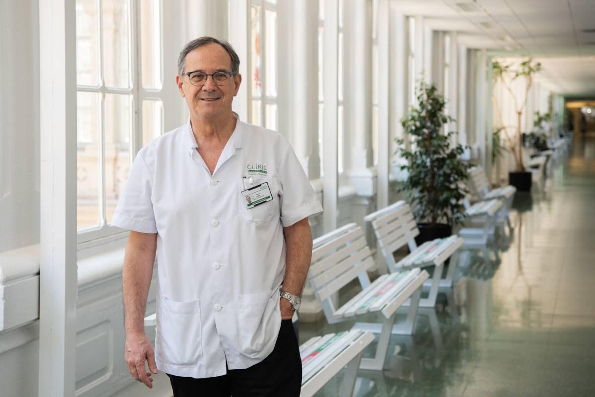 Jordi Vila, presidente de la Sociedad Española de Enfermedades Infecciosas y Microbiologia Clínica (SEIMC).