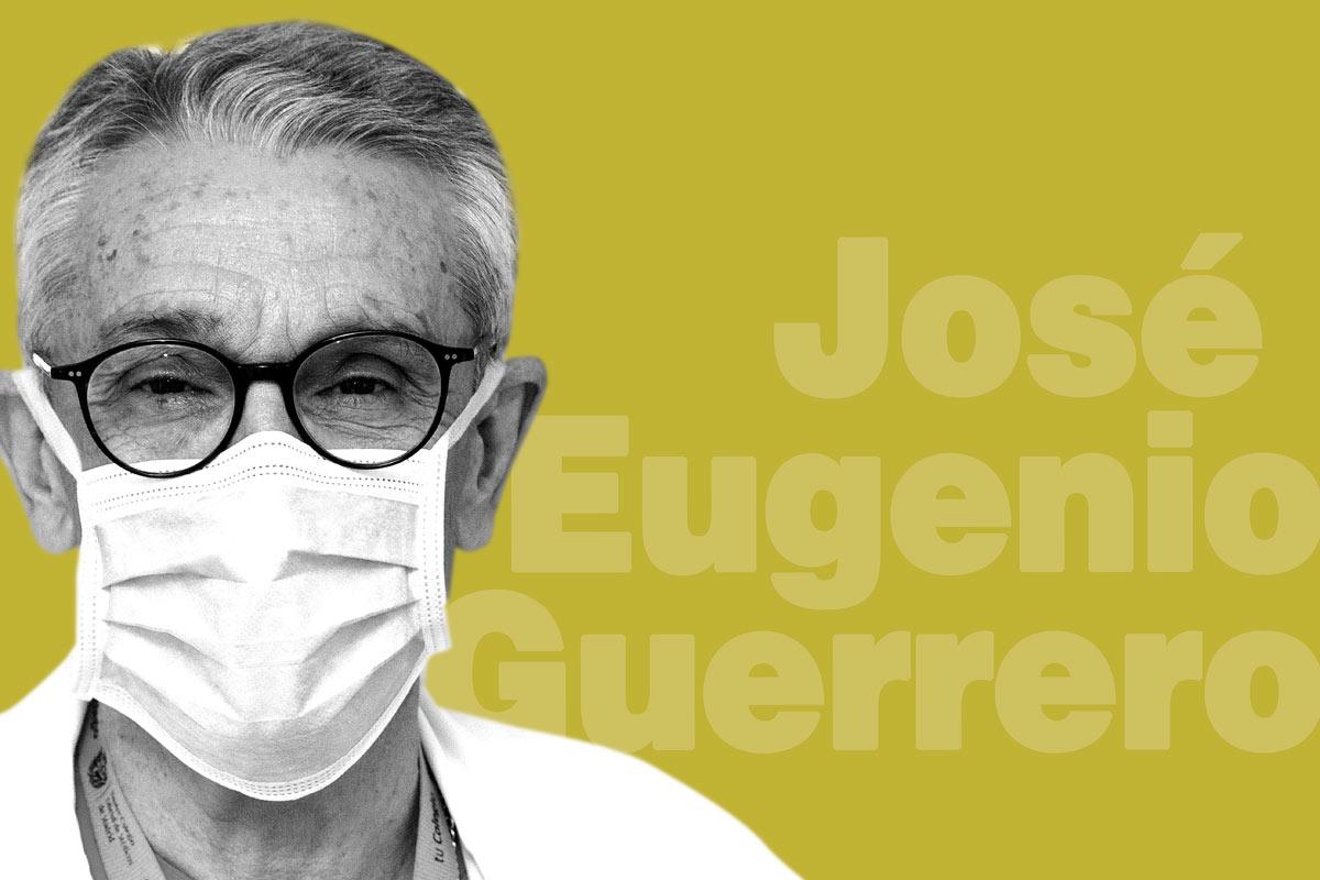 José Eugenio Guerrero, jefe de la UCI del Gregorio Marañón y de HM Hospitales