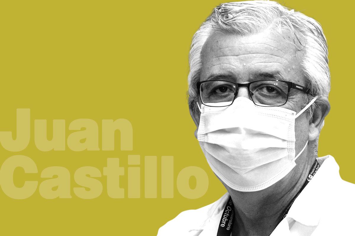 Juan Castillo, jefe del Servicio de Rehabilitación del Hospital 12 de Octubre, de Madrid. FOTOS: Luis Camacho.