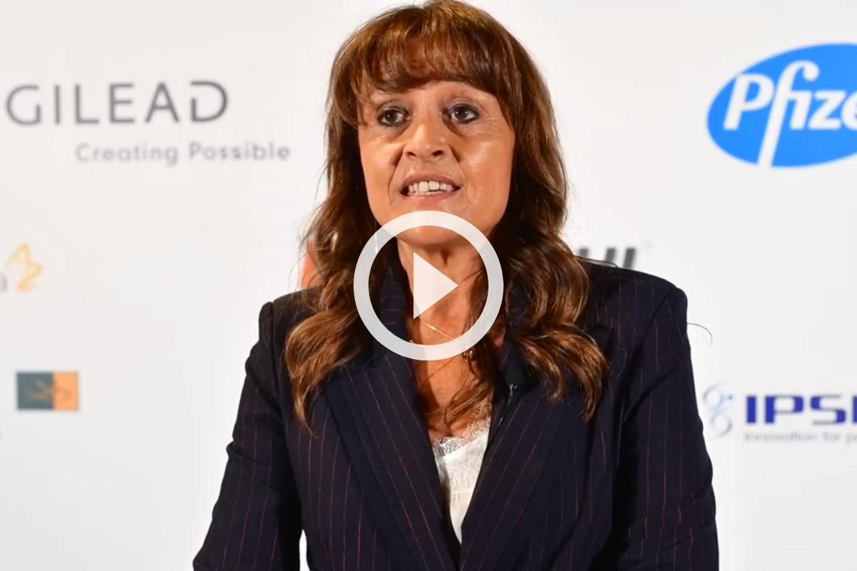 María Cruz Martín Delgado, presidenta de la Federación Panamericana e Ibérica de Medicina Crítica y Terapia Intensiva (FEPIMCTI)