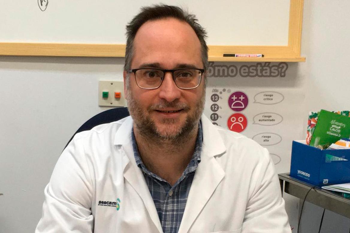 Pedro Rozas Moreno, endocrinólogo en el Hospital General Universitario de Ciudad Real