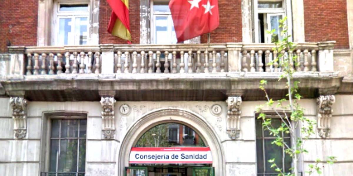 Sección de suministro de medicamentos extranjeros de la Comunidad de Madrid.