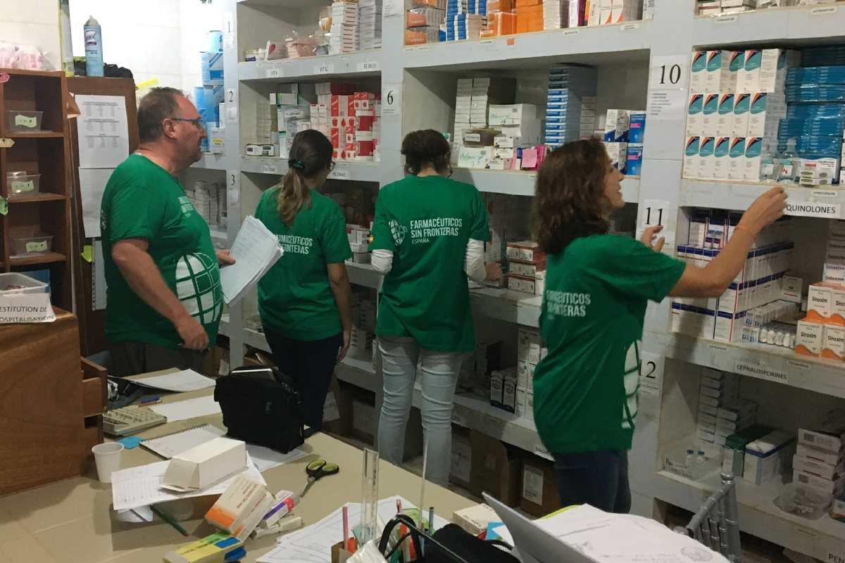 Imagen de un proyecto, en Camerún, en el que han intervenido voluntarios del programa.