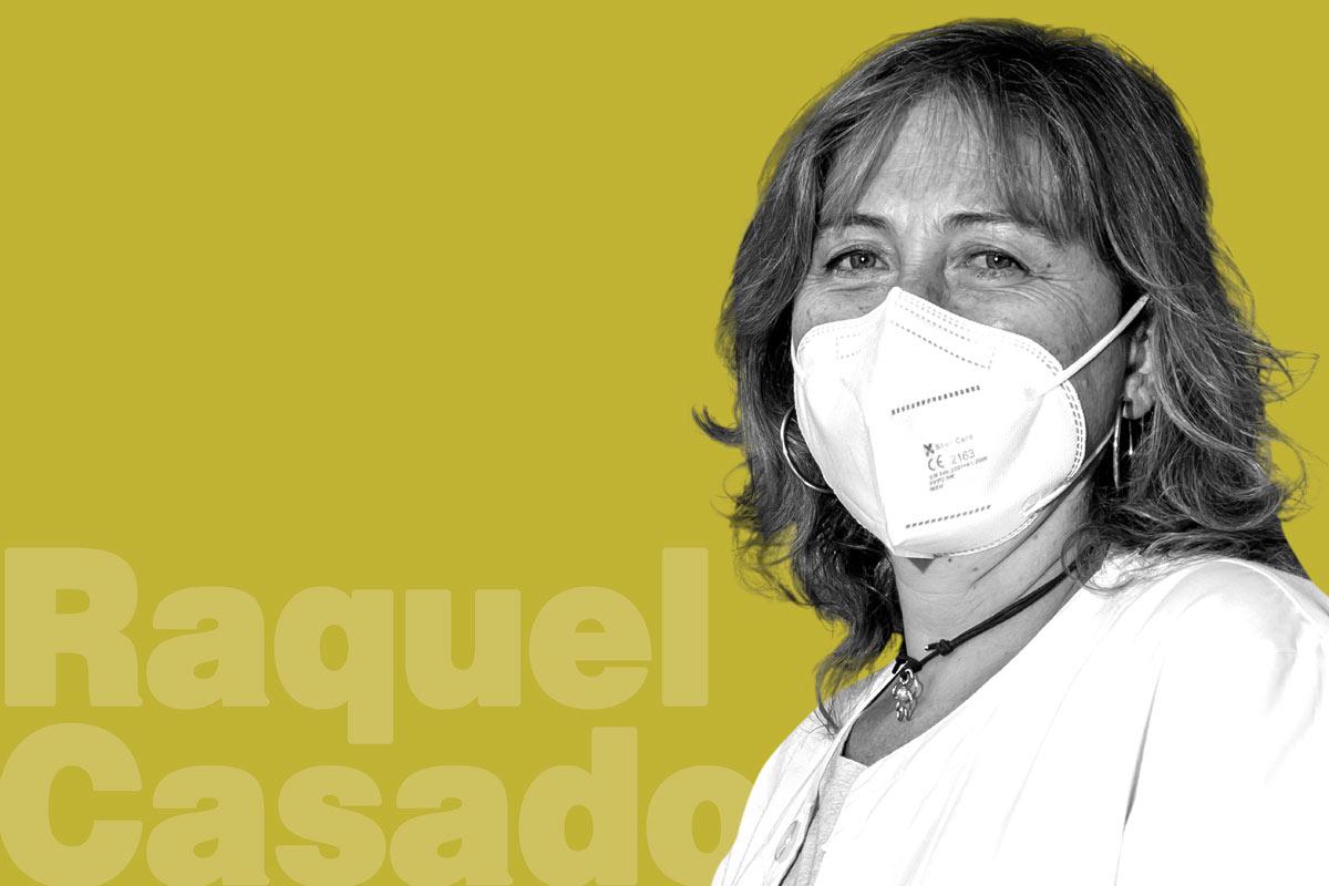 Raquel Casado, farmacéutica de Buitrago de Lozoya (Madrid) y vocal de titulares de farmacia rural del COF de Madrid.