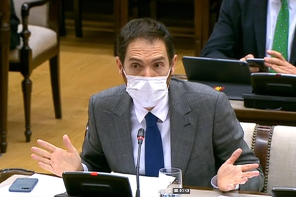 Sergio Sayas, portavoz de Sanidad del Grupo Mixto.