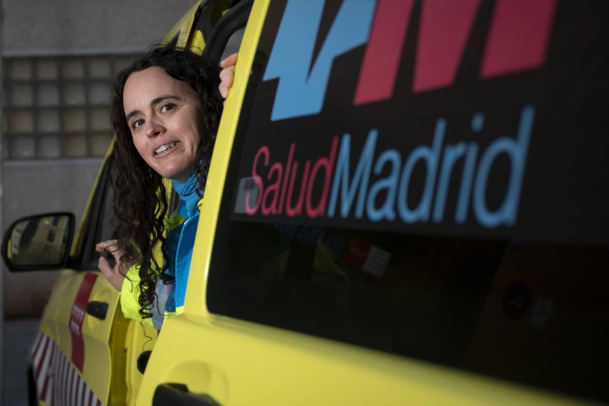 Sara Navarro es supervisora de Summa 112. FOTO: José Luis Pindado.