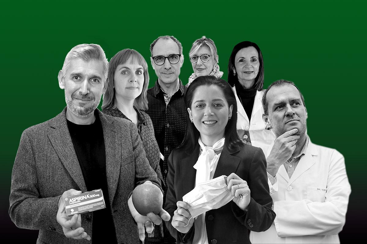 Joan Bartra, Cinta Hierro, Josep C. Jiménez, Anna Veiga, María Luis Couce, Leticia de Mattos y Diego Clemente