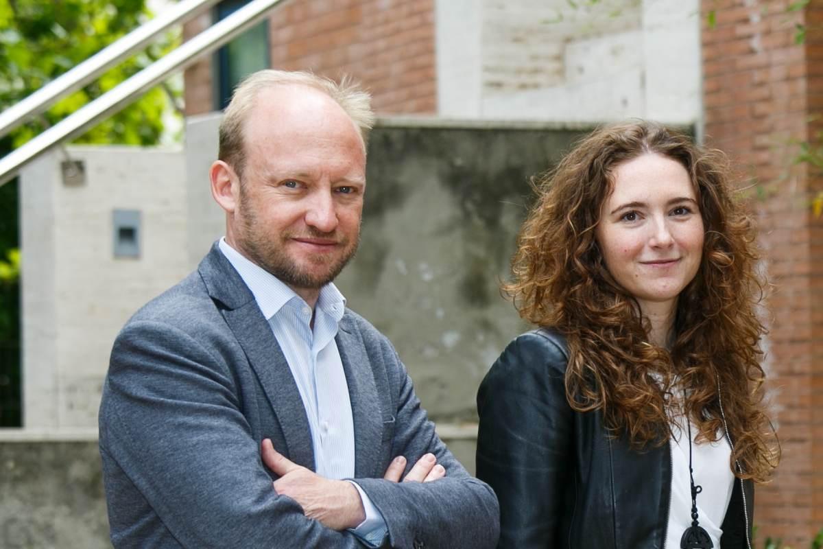 David Segarra y María Eugenia Zarabozo, fundadores y CEOs de AptaTargets.