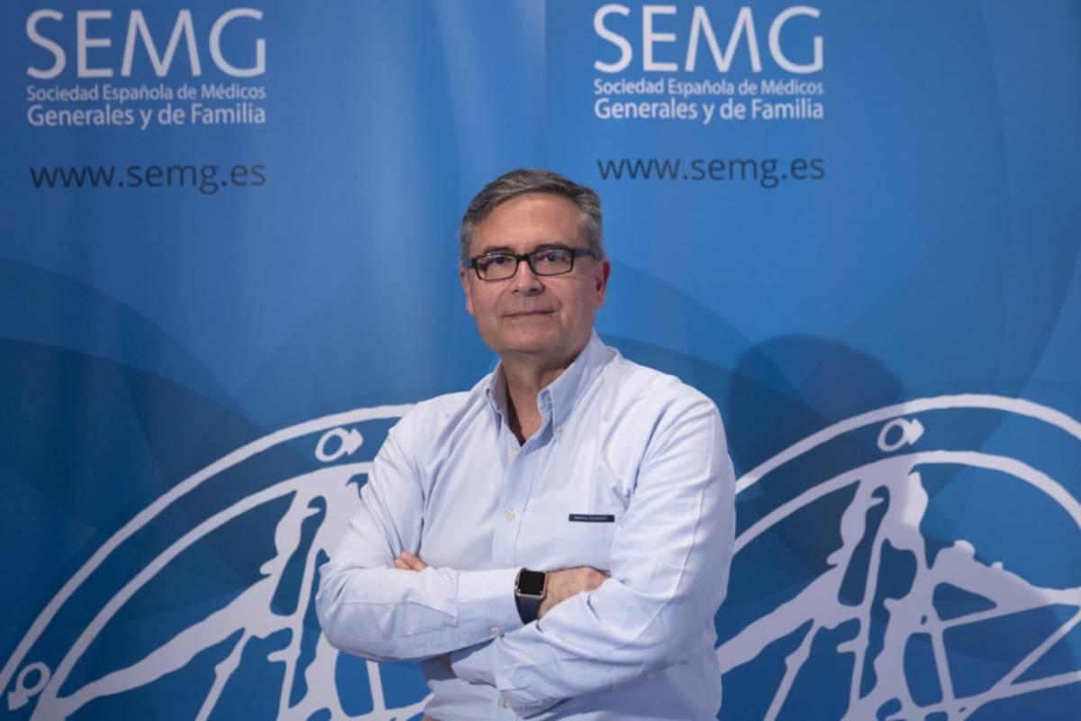 Lorenzo Armenteros, portavoz covid-19 de la Sociedad Española de Médicos Generales y de Familia (SEMG).
