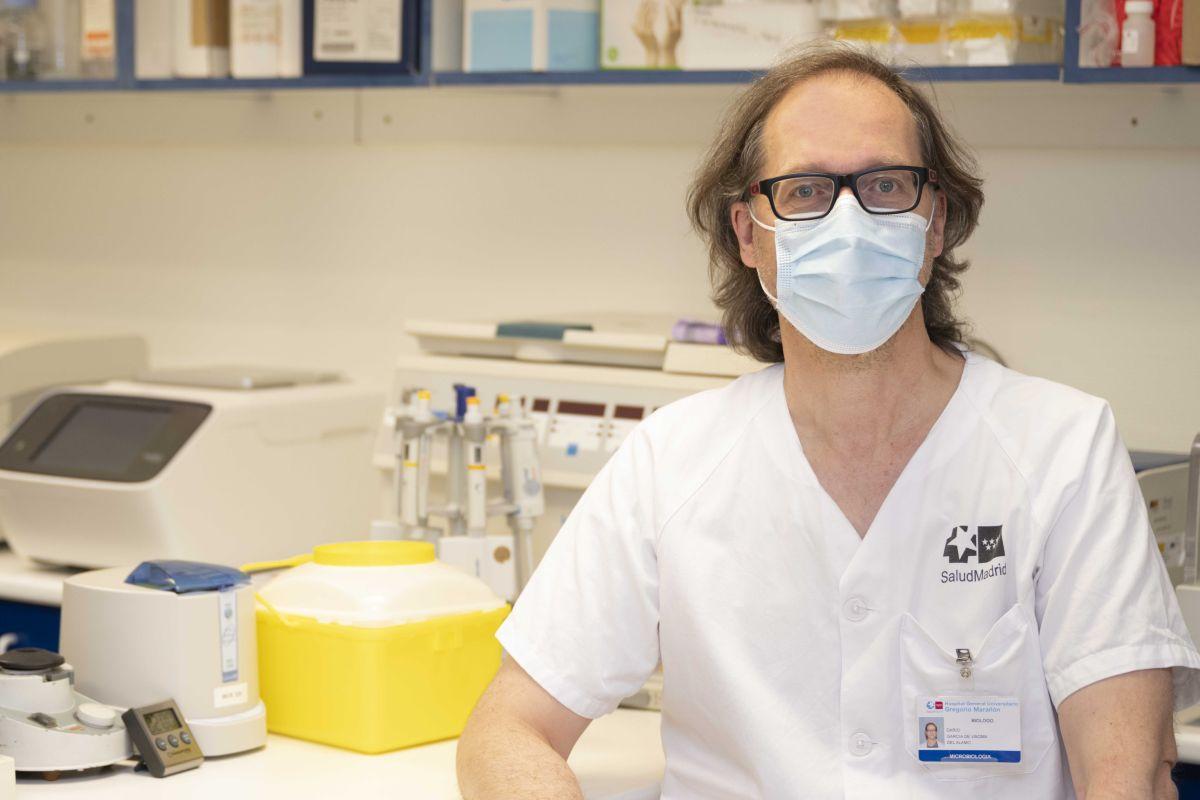 Darío García de Viedma, del Servicio de Microbiología y Enfermedades Infecciosas del Hospital Gregorio Marañón, de Madrid.