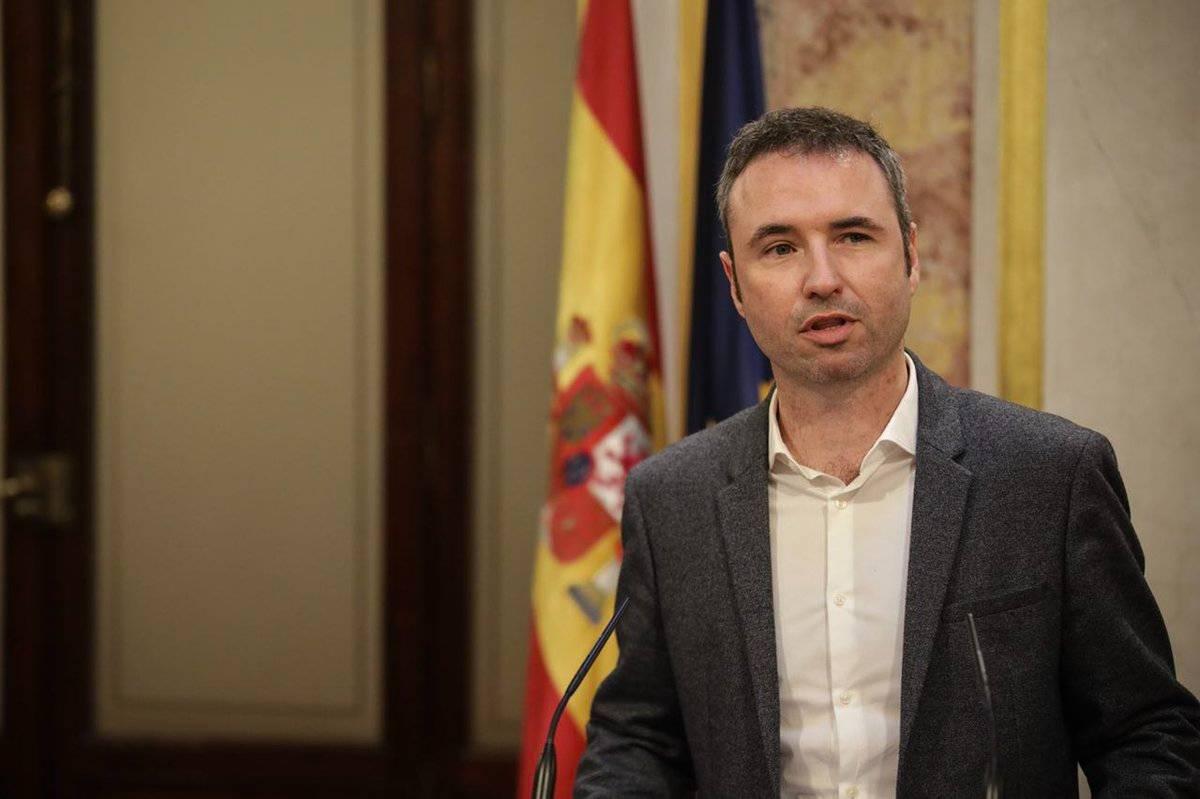 Guillermo Díaz, portavoz de Sanidad de Ciudadanos en el Congreso de los Diputados.