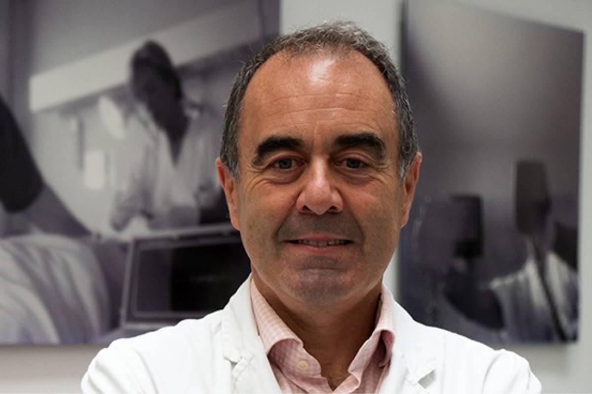 El inmunólogo Marcos López Hoyos.