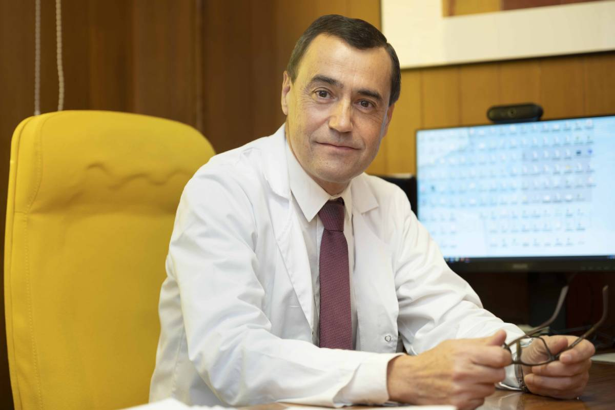 Rubén Francisco Flores García, director de Enfermería del Hospital Gregorio Marañón. FOTO: Hospital Gregorio Marañón.
