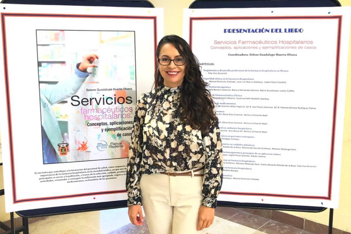 Selene Huerta, profesora e investigadora en Cuciénega-Universidad de Guadalajara (México) y miembro del comité organizador del Congreso internacional de Farmacia Cl�nica y Toxicolg�a.