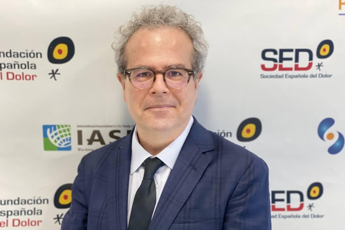 Víctor Mayoral, nuevo presidente de la Sociedad Española del Dolor (SED).