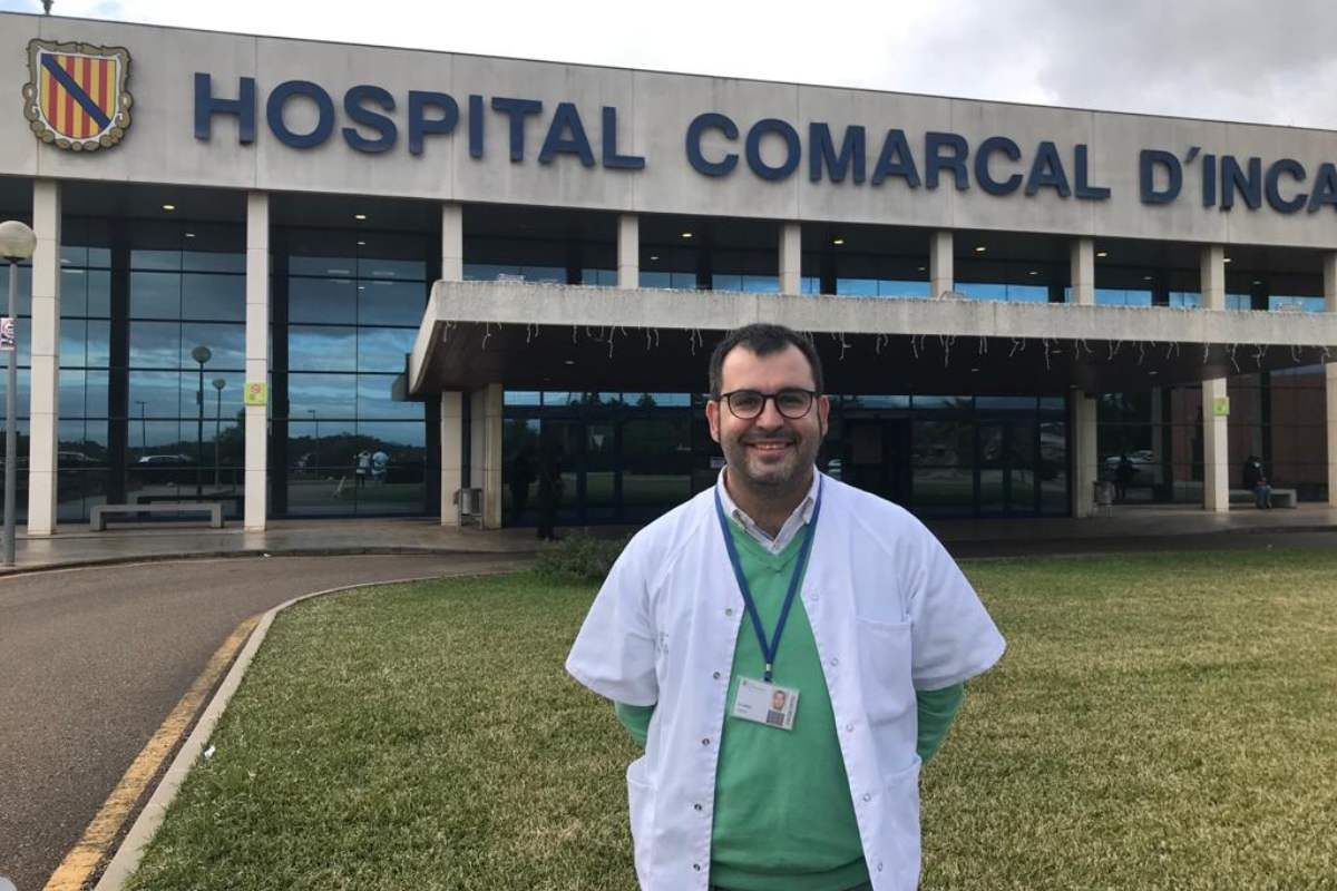 Ángel García Álvarez, farmacéutico del Hospital Comarcal de Inca, ha sido el primero en España en obtener el BPS de Geriatría.