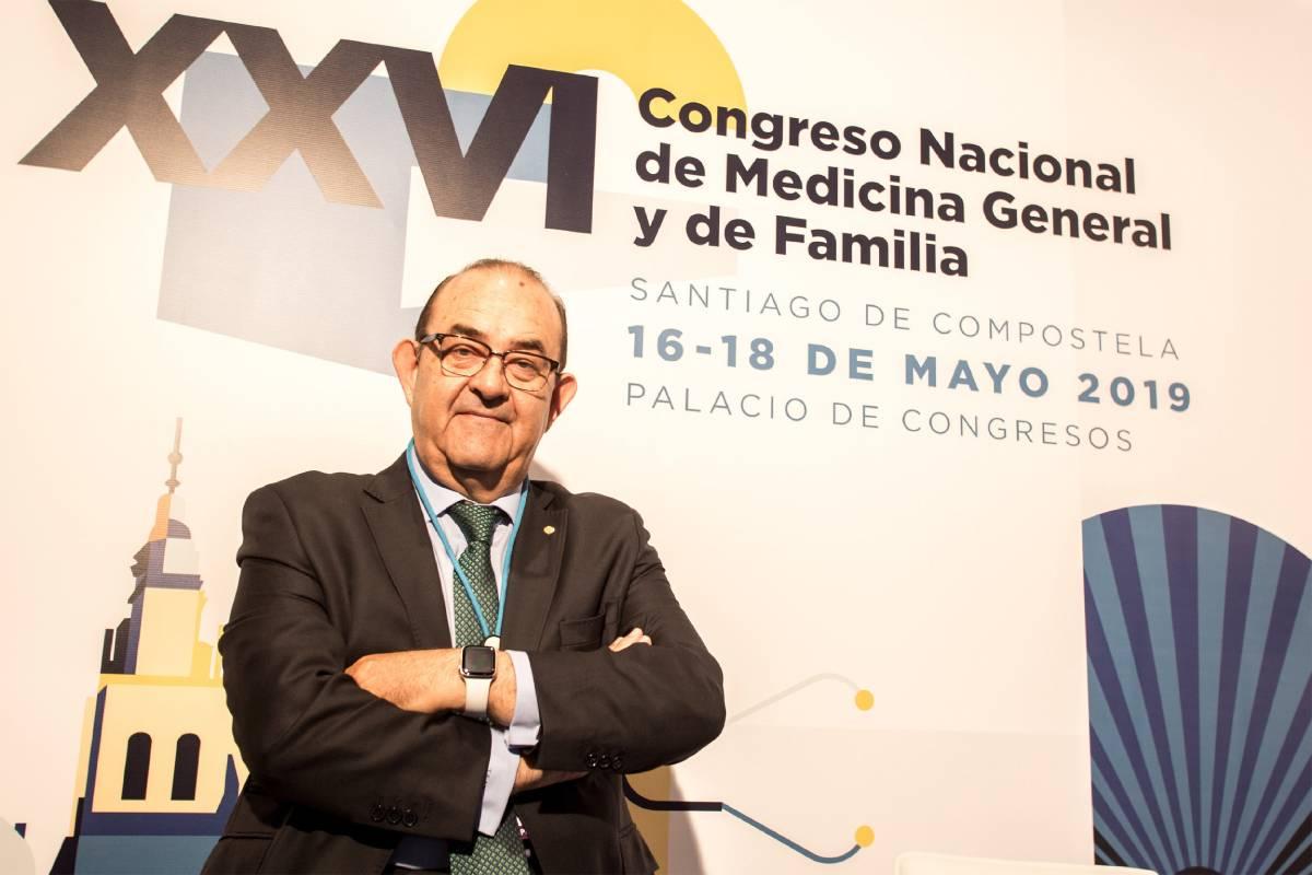 Antonio Fernández-Pro Ledesma, presidente de la SEMG, en el último congreso nacional celebrado por la sociedad (Andrés Panaro)