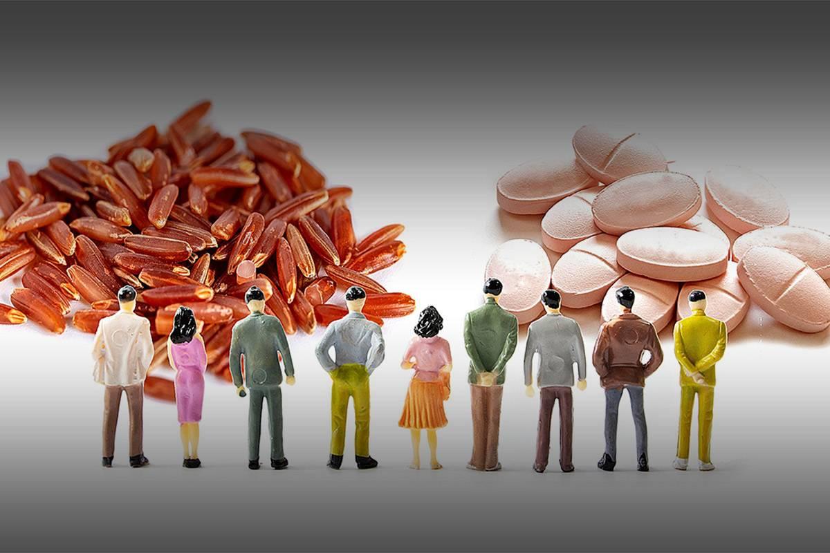 """La levadura roja de arroz es considerada como la """"estatina natural""""."""