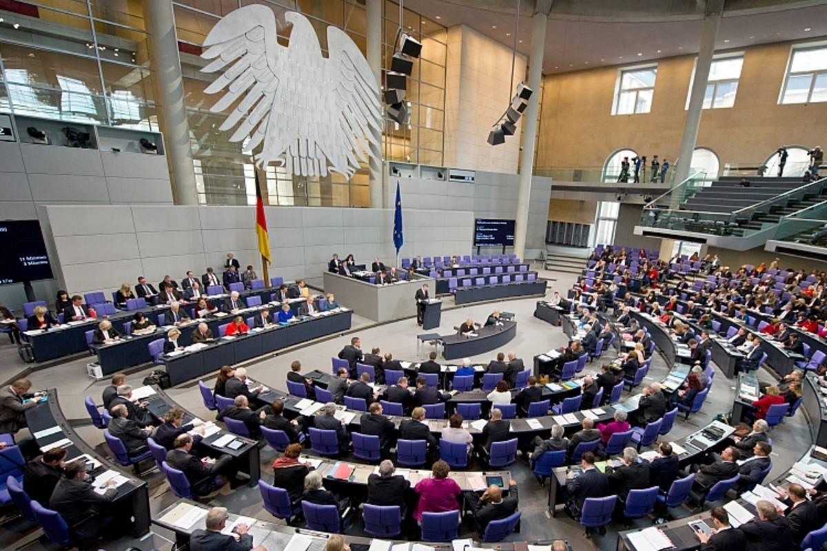 El Bundestag alemán.