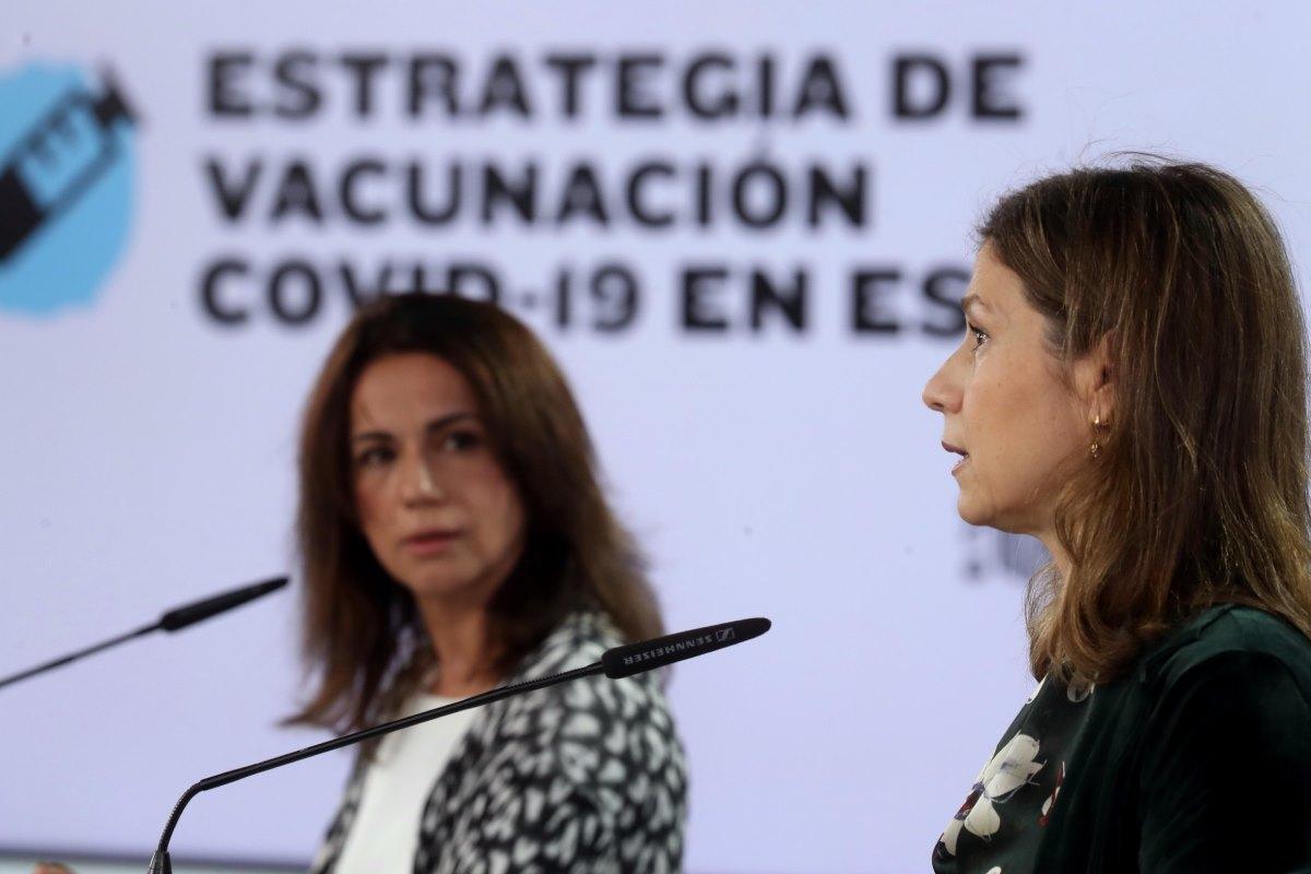 Silvia Calzón y María Jesús Lamas