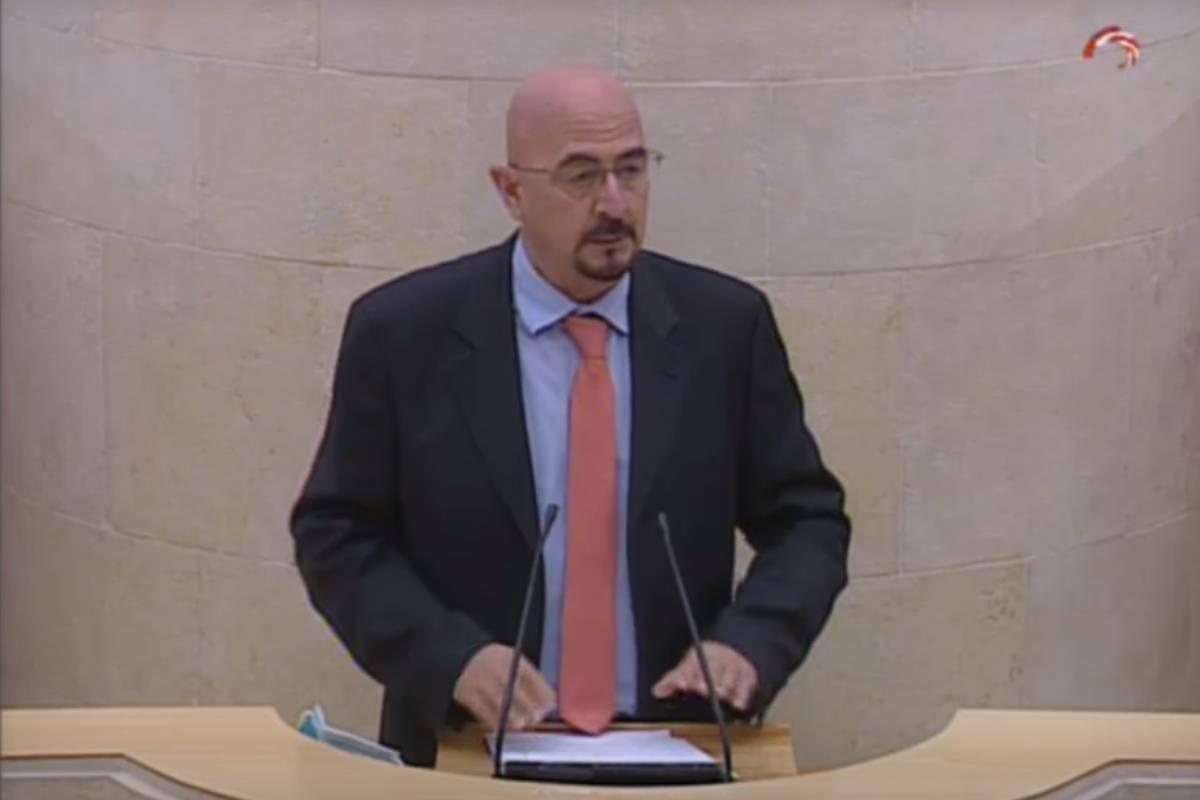 César Pascual, portavoz de Sanidad del PP por Cantabria.