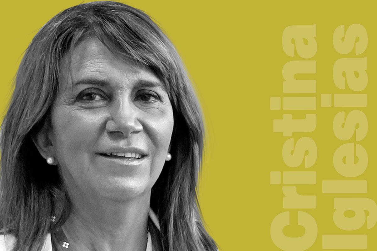 Cristina Iglesias, jefa de sección de Reanimación del servicio de Anestesiología del HUCA