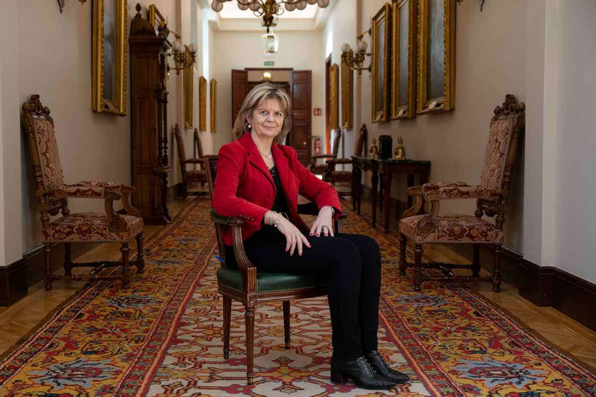 Elvira Velasco, portavoz de Sanidad del PP en el Congreso. Foto: Luis Camacho