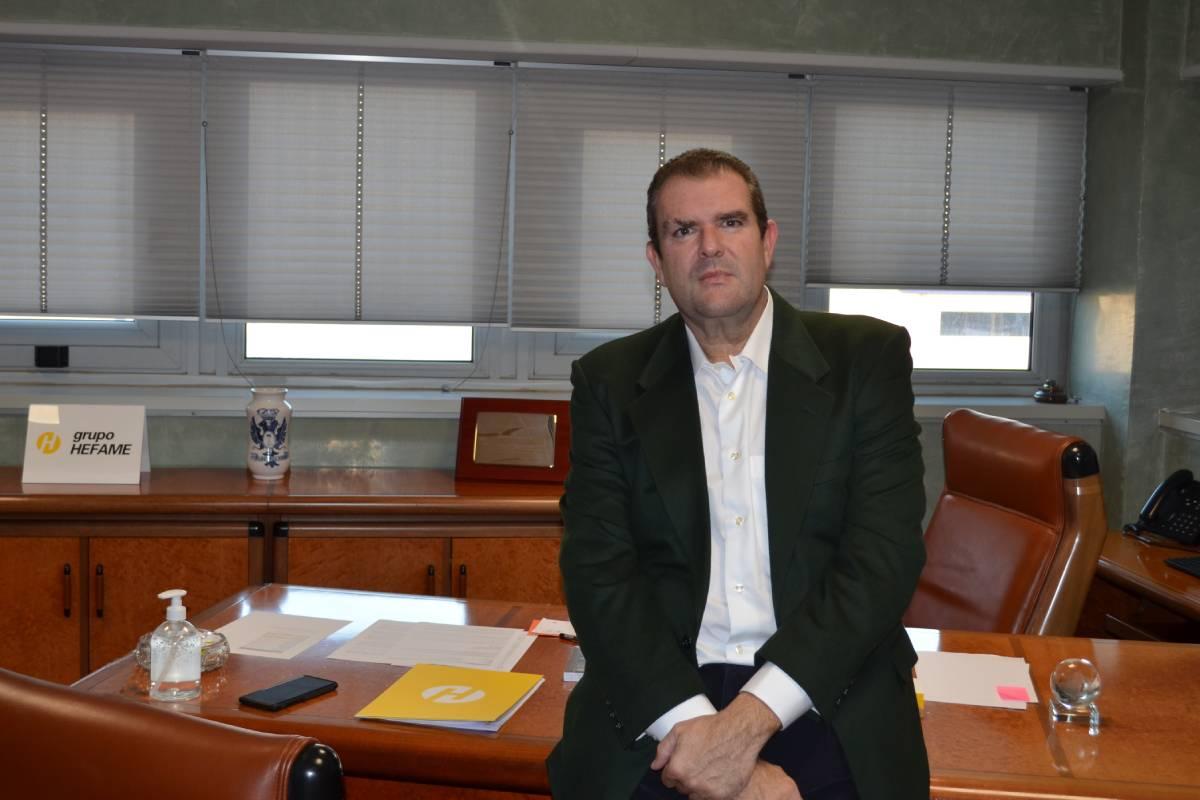Enrique Ayuso, nuevo presidente de Grupo Hefame.