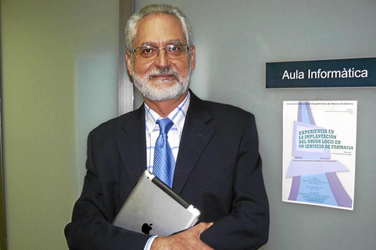Enrique Soler, presidente de la SEFAF y jefe del Servicio de Farmacia del Hospital Arnau de Vilanova de Valencia.