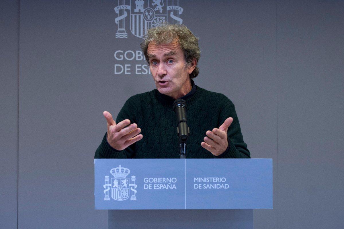 Fernando Simón, director del Centro de Coordinación de Alertas y Emergencias Sanitarias.
