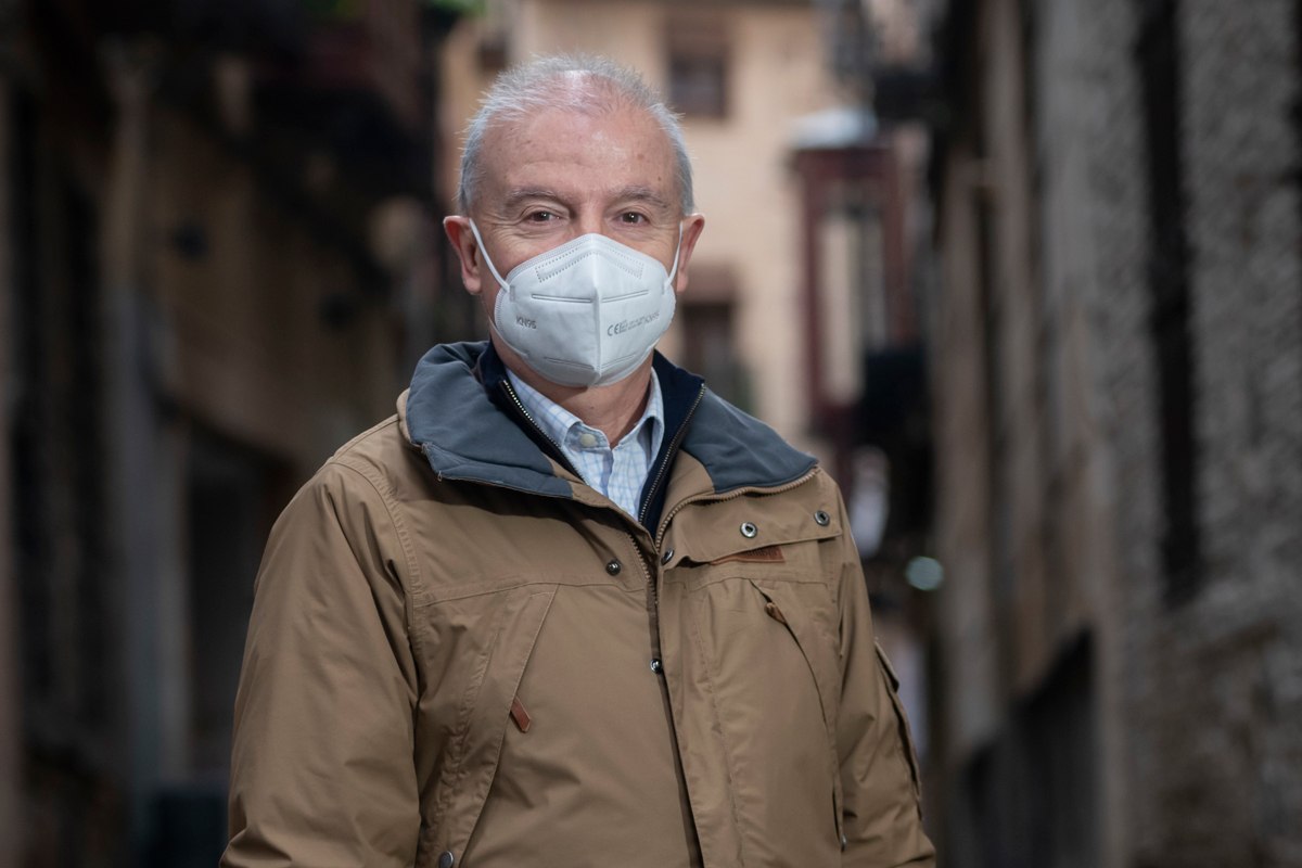 Francisco Javier Alonso, coordinador del estudio 'Presencia' de Semergen, sobre sospecha de maltrato al anciano (José Luis Pindado)