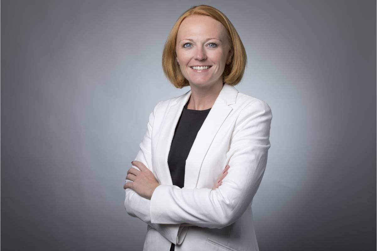 Helen Tomlinson, directora general de GSK Consumer Healthcare para España y Portugal.
