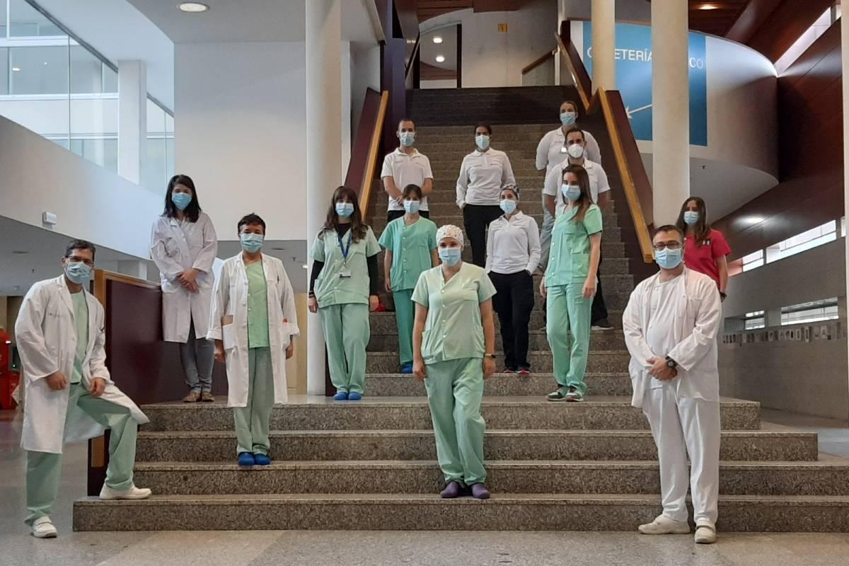 Equipo de la Unidad del Paciente Crónico Complejo del Hospital de Fuenlabrada.