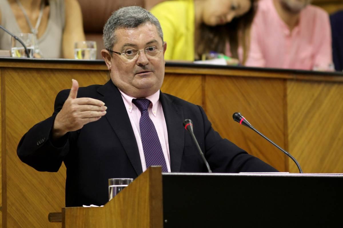 Jesús Mar�a  Ruiz Garc�a, portavoz de Sanidad del PSOE en Andaluc�a.