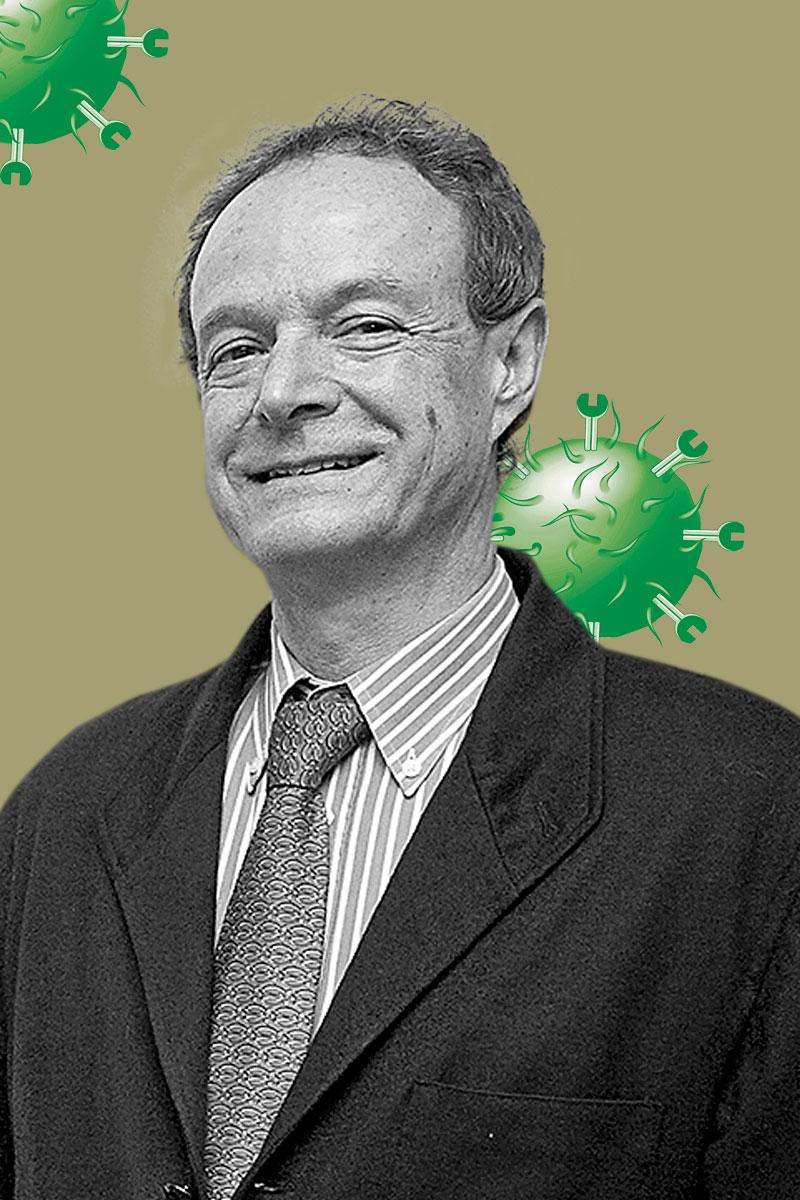José Mar�a Moraleda, hematólogo del IMIB.