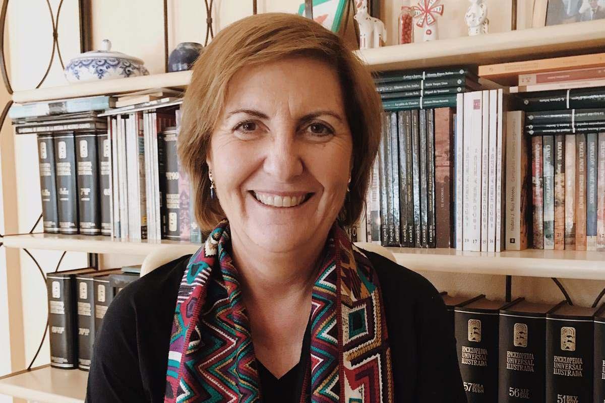 Loreto Maciá, enfermera de formación y doctora en Salud pública por la Universidad de Alicante.