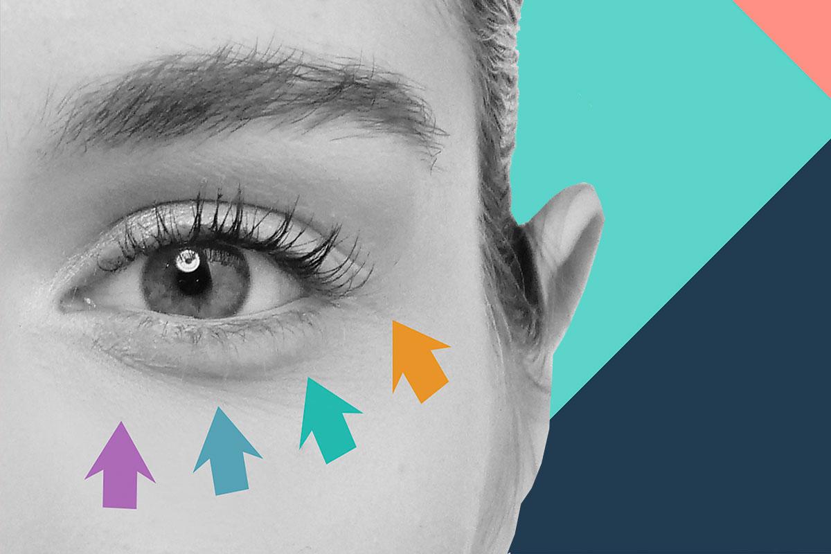 Existen numerosos cosméticos que se han ido especializando en el tratamiento del contorno de ojos.
