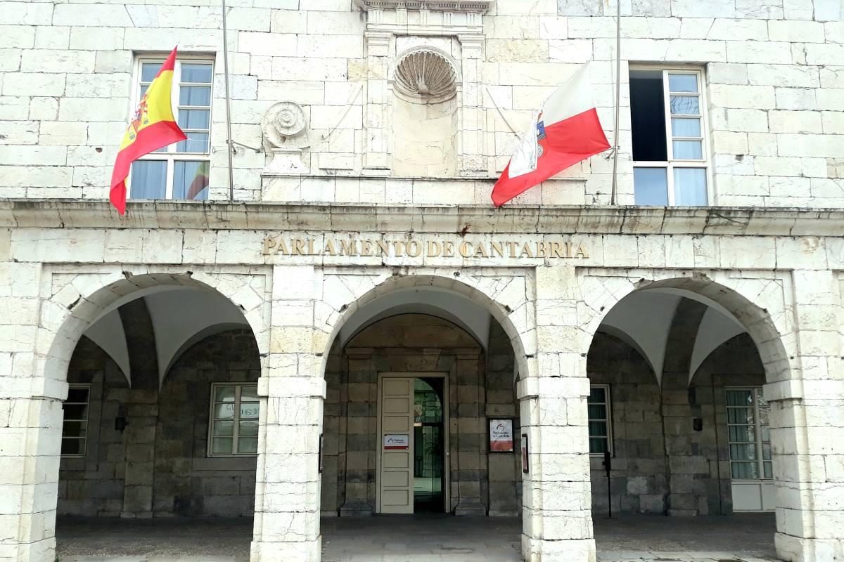 Parlamento de Cantabria.