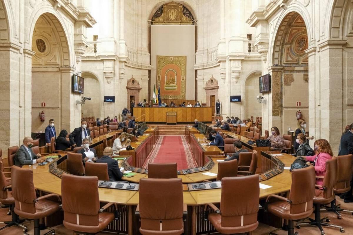 Parlamento de Andaluc�a.